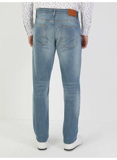 Colin's Regular Fit Tapered Paça Yüksek Bel 067 Jack Erkek Jean Pantolon Lacivert